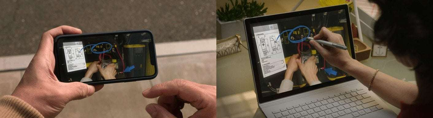 Microsoft HoloLens Remote Assist Remote colleagues