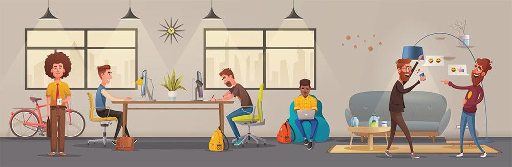 Modern Workplace Wie Arbeit 4.0 Mitarbeiter zu Teamplayern macht